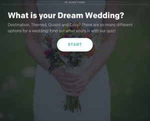 What is your dream wedding?