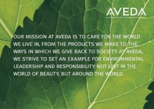 the aveda mission