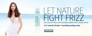 fight frizz aveda smooth infusion creme