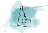 state of idaho logo