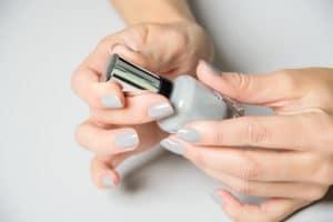 cold nail polish