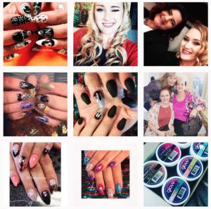 Kessa W's Instagram feed