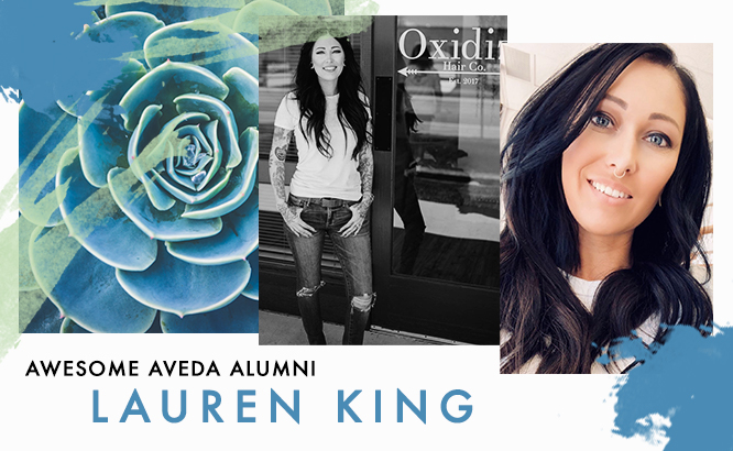 Aveda Idaho Alumni Lauren King