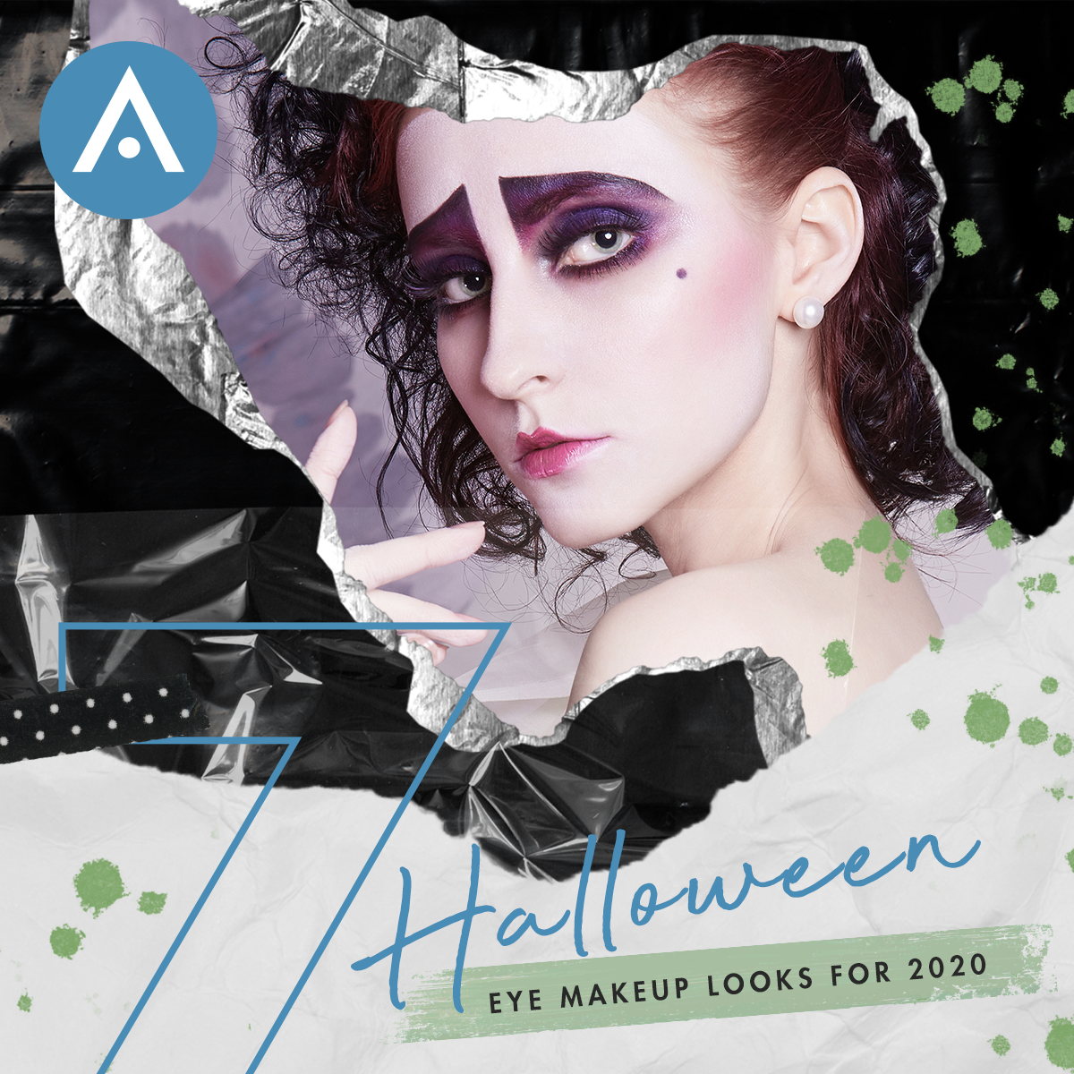 7 halloween looks graphic